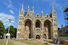 Peterborough Cathedral, Western Façade, Northamptonshire © N Chadwick